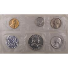 1961	 U.S. Mint Proof Set