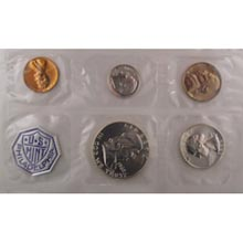 1962	 U.S. Mint Proof Set