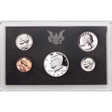 1968	 U.S. Mint Proof Set