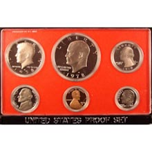 1978	 U.S. Mint Proof Set