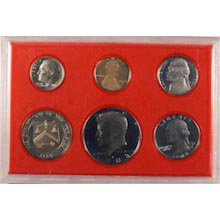 1982	 U.S. Mint Proof Set