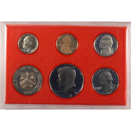 1982 U S  Mint Proof Set