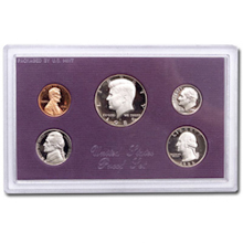 1986	 U.S. Mint Proof Set