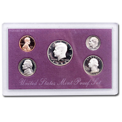 1989	 U.S. Mint Proof Set