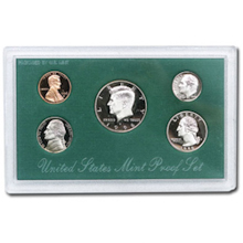 1996	 U.S. Mint Proof Set