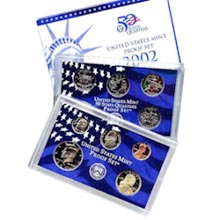 2002	 U.S. Mint Proof Set