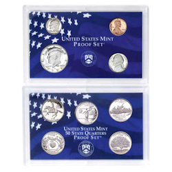 1999	 U.S. Mint Proof Set
