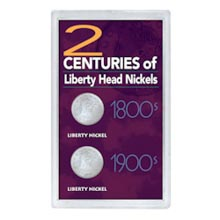 2 Centuries of Liberty Head Nickels