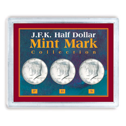 JFK Half Dollar Mint Mark Collection