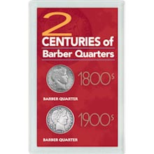 2 Centuries of Barber Quarters