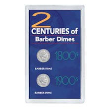 2 Centuries of Barber Dimes