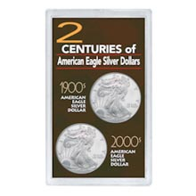 2 Centuries of American Eagle Silver Dollars