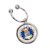 JFK Half Dollar Keyring/Airforce