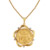 French Angel Coin Pendant