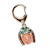 Horseshoe Lotto Scratcher Coin Keychain with Irish Penny Coin Jewelry