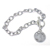 Year To Remember Sterling Silver Coin Toggle Bracelet