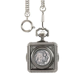Buffalo Nickel Pocket Watch