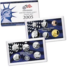 2005 U.S. Mint Proof Set