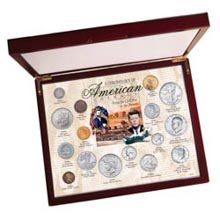 Chronology of American Coins - Civil War to Present - 16 Legendary U.S. Mint Coins Spanning 150 Years