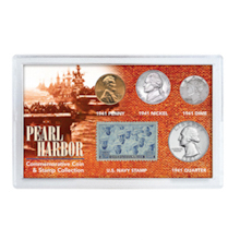 Pearl Harbor Coin & Stamp Collection