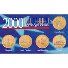 2000 Gold-Layered State Quarters