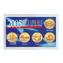 2005 Gold-Layered State Quarters