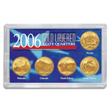 2006 Gold-Layered State Quarters