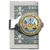 Silver-Toned Moneyclip W/Colorized Army JFK Half Dollar