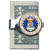 Silver-Toned Moneyclip W/Colorized Air Force JFK Half Dollar