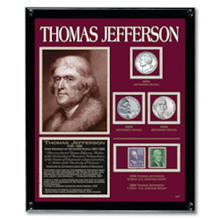 Jefferson Framed Tribute Collection