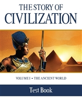 THIRD GRADE: The Story of Civilization, Vol. 1 Test Book