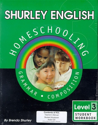 THIRD GRADE: Shurley Grammar 3 Homeschool Kit