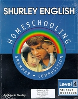 FOURTH GRADE: Shurley Grammar 4 Homeschool Kit