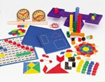 Saxon Home Study Manipulative Kit (used in grades PreK-2)