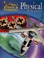 NINTH GRADE: Physical Science Student Textbook (used)