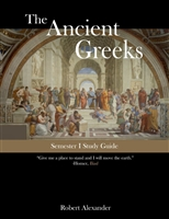 ANCIENT GREEK YEAR: Study Guide for the First Semester Ancient Greek Year