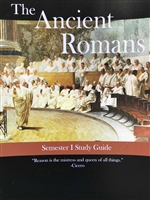 ANCIENT ROMAN YEAR: Study Guide for the First Semester Ancient Roman Year