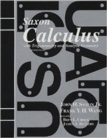 TWELFTH GRADE: Saxon Calculus Solutions Manual