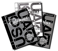 TWELFTH GRADE: Saxon Calculus Homeschool Kit