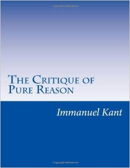 MODERNS YEAR: Critique of Pure Reason by Immanuel Kant