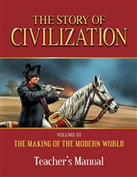 FIFTH GRADE: Story of Civilization, Vol. 3 Teacher's Manual