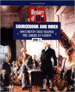 EIGHTH GRADE: Sourcebook for US Documents (used book)