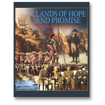 EIGHTH GRADE: Lands of Hope and Promise: A History of North America (Textbook)