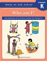 Who Am I? Image of God Kindergarten Workbook
