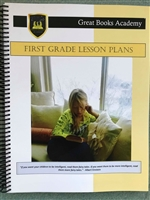 Great Books Academy Grade 1st Grade Lesson Plans binder