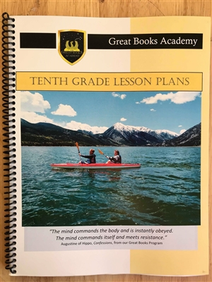 Great Books Academy Grade 10th Grade Lesson Plans binder