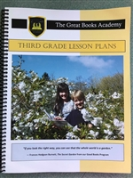 Great Books Academy Grade 3rd Grade Lesson Plans binder