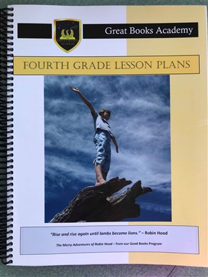 Great Books Academy Grade 4th Grade Lesson Plans binder