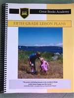 Great Books Academy Grade 5th Grade Lesson Plans binder
