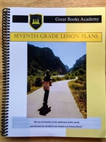 Great Books Academy Grade 7th Grade Lesson Plans binder